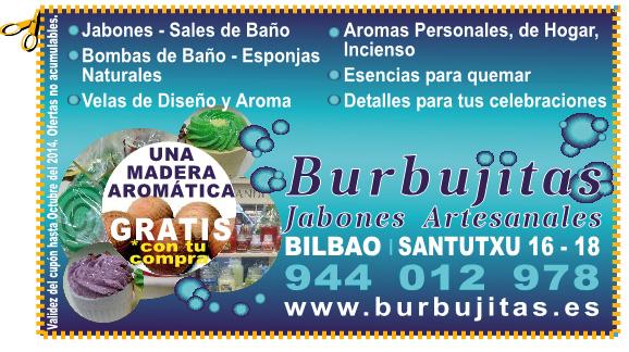 Burbujitas Jabones Artesanales en Santutxu Bilbao