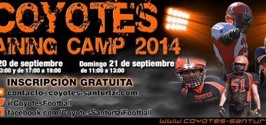 Buscamos nuevos jugadores con ganas de aprender para el Coyotes Santurtzi