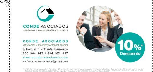 CONDE ASOCIADOS ABOGADOS Y ADMINISTRACIÓN DE FINCAS